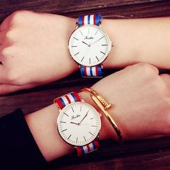 InShop Watches - Stripe Strap Watch