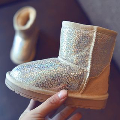 BOOM Kids - 童裝閃亮雪靴