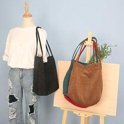 TangTangBags - Corduroy Shopper Bag