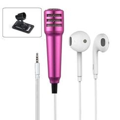 MECHA - Earphone with Karaoke Microphone