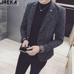 Jacka - Slim-Fit Wool Casual Blazer
