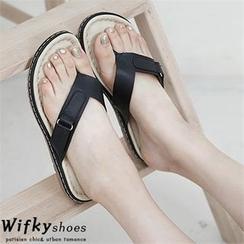 Wifky - Belted Flip-Flops