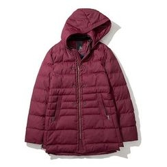 Bay Go Mall - Hooded Long Padded Coat