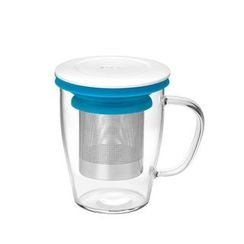 NOW POW - Glass Cup with Tea Infuser