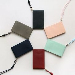 iswas - 'With Alice' Series Card Wallet With Strap