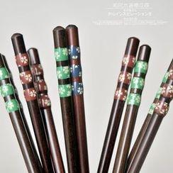 Jarsun - 日式酸棗木尖頭筷子