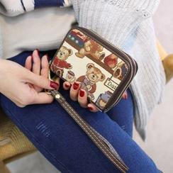 Rinka Doll - Bear Zip Wallet