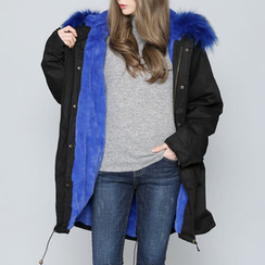 Envy Look - Faux-Fur Hood Lined Parka