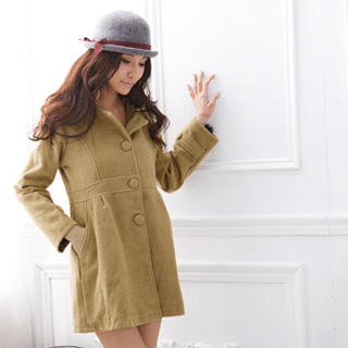 RingBear - Hooded Long Coat