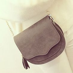 Youme - Faux Leather Shoulder Bag