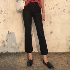 OCTALE - Cropped Boot Cut Jeans