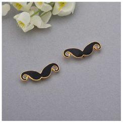 Mamak Beans - Mustache Collar Pin