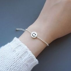 MOMENT OF LOVE - Smiley Face Bead Bracelet