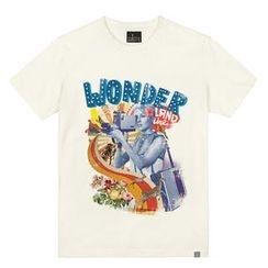the shirts - Wonderland Print T-Shirt