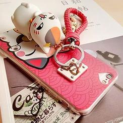 Casei Colour - iPhone6  / 6 Plus猫咪印花钥匙链手机壳