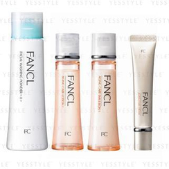 Fancl - Daily Care Set (Aging Care Line I) (4 items): Washing Powder 50g + Lotion 30ml + Emulsion 30ml + Cream 18g