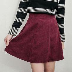 Tokyo Fashion - Faux Suede Skirt