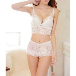 Croix - Set: Lace Bra + Panties