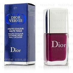 Christian Dior - Dior Vernis Haute Couleur Extreme Wear Nail Lacquer (#671 Graphic Berry)