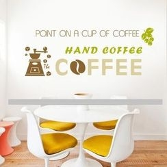 LESIGN - Coffee Wall Sticker