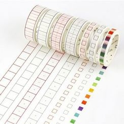 Homey House - Grid Masking Tape