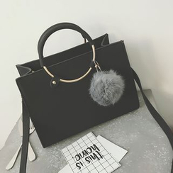 MISS RETRO - Faux Leather Hand Bag