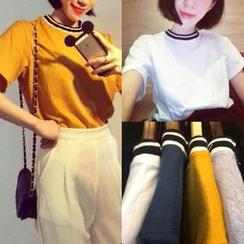 氣質淑女 - 短袖 T 恤