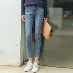HotBlock - Cropped Skinny Jeans