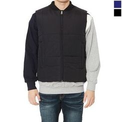 Seoul Homme - Padded Zip-Up Vest