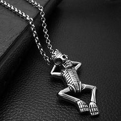 Andante - 骷髅吊坠项链