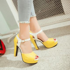 Pastel Pairs - High Heel Sandals