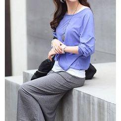 Pura - Set: 3/4-Sleeve Top + Tank Top + Midi Skirt