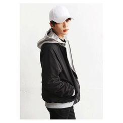 HOTBOOM - Reversible Zip-Up Jacket