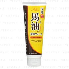 Cosmetex Roland - Loshi Moist Aid Horse Oil Whip Cleansing Foam