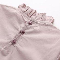 Seashells Kids - Kids Frill Collar Long-Sleeve Top