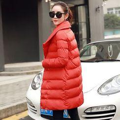 Romantica - Snap-Button Puffer Coat