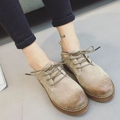 Zapatos - Genuine Leather Oxford Shoes