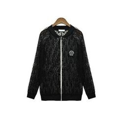 GRACI - Lace Zip Jacket
