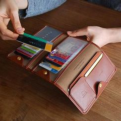 Zakka - Faux-Leather Folding Wallet