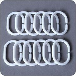 Eggshell Houseware - Shower Curtain Hooks