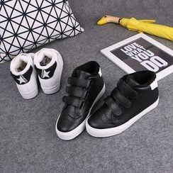 Klesky - High Top Fleece Sneakers