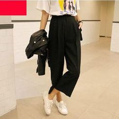 OTTI - Cropped Wide Leg Pants