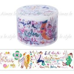 Aimez le style - Aimez le style Masking Tape Primaute Wide Colorful Letter