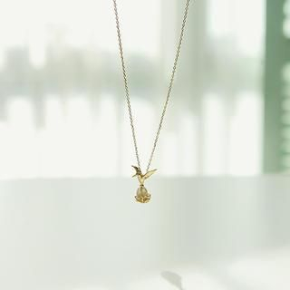 soo n soo - Bird Pendant Necklace