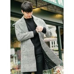 JOGUNSHOP - Wool Blend Houndstooth Coat