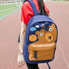 VIVA - Bear Print Backpack