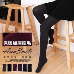 AnnSmile - Brushed-Fleece Leggings