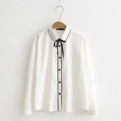Angel Love - Bow Neck Blouse