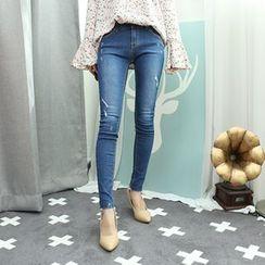 Dodostyle - Distressed Skinny Jeans