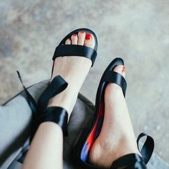 MIAOLV - Tie-Ankle Sandals